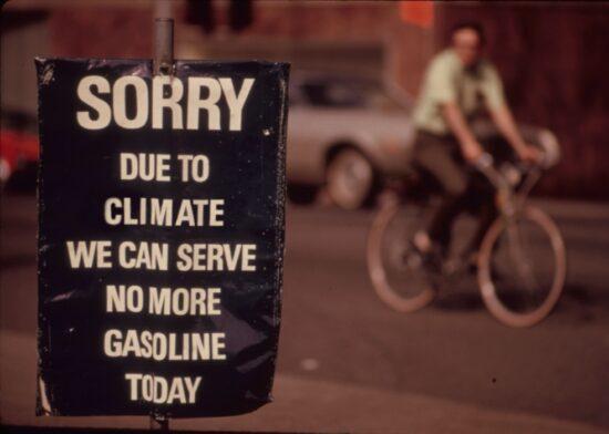 no more gasoline today